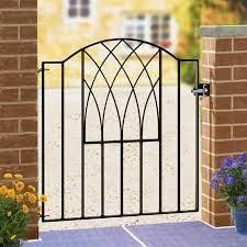 verona metal garden gate wrought iron