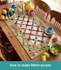 Roundup: Just for fun free quilting tutorials - Stitch This! The ... & How to make fabric yo-yos Adamdwight.com