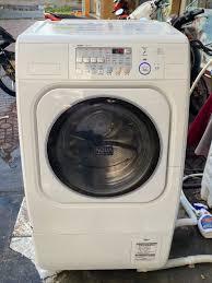 Máy giặt SANYO AWD-AQ150 Giặt 9Kg Sấy... - HÀNG NỘI ĐỊA NHẬT