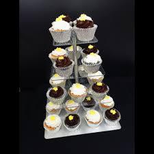 square cupcake stand