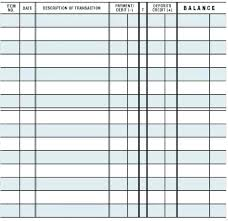Free Printable Check Register Template Front And Back Elektroautos Co