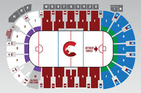 Royals Seating Chart Cougars Seating Map Prince George Cougars