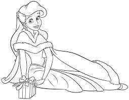 Small Picture Belle And Ariel Coloring PagesAndPrintable Coloring Pages Free