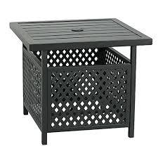 alive outdoor patio bistro table t06166 patio tree outdoor steel umbrella stand side table patio bistro