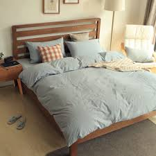Kids need room to grow and replacing their bed every time they grow bigger is a little expensive. Light Blue Bedsheet Set Queen Size Modern Bedding Sets Luxury Bed Linen Child Bedding Set Solid Color Duvet Bed Linens Luxury Modern Bed Set Kids Bedding Sets