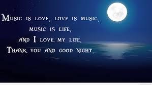 love my life good night message