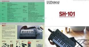 Roland SH-101 brochure, 1982 - Retro Synth Ads