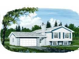 Split Level House Plans at Dream Home Source   Split Level Floor PlansDHSW   Split Level House Plans