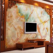 wall murals for living room. Colorful Marble Contact Paper 3D Photo Wall Mural Living Room TV Background Covering Murals Rolls Art Decor-in Wallpapers From Home For S