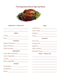 thanksgiving potluck sign up sheet thanksgiving potluck sign up printable thanksgiving pinterest