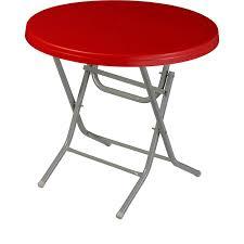 manolya round table folding metal leg Ø80