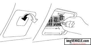 nissan altima l31 fuse box diagrams schemes vehicle com nissan altima l31 fuse box passenger compartment location