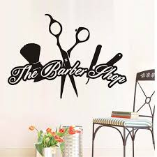 Barber Quotes Extraordinary Quotes The Barber Shop Creative Wall Stickers Scissors Hairdressing