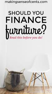 Home Furniture Financing