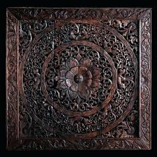 carved wood wall panel wood panel wall art furniture mandala carved wood wall art panel for