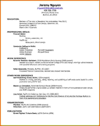 First Resume Template 100 how to make your first resume Lease Template 69