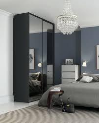 b ikea mirrored wardrobe sliding doors instructions classic single panel sliding wardrobe doors in a mirror finish with black frame wardrobe sliding mirror