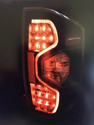 One Of My Brake Lights Is Out Need Opinions On Some New Led Tails Toyota Tundra