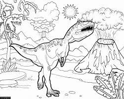 Niewu T Rex Tekening Kleurplaat 2019