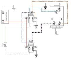 volt electric winch wiring diagram wiring diagram schematics winch wiring diagram aut ualparts com winch wiring