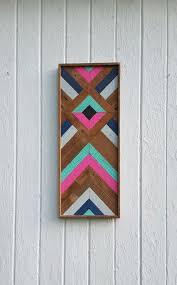 diamond wood wall decor reclaimed wood wall art lath chevron wall decor diamond geometric best pictures