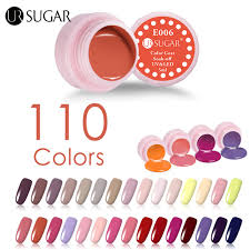 Lcn Gel Color Chart Ur Sugar Uv Gel Polish Soak Off 110 Pure Colors Effect Coat