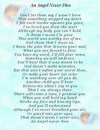 Baby Death Quotes Beauteous Angel Baby Poem Rest Easy My Little Beans On Infant Loss Quotes N