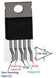 tda2030a audio amplifier pinout pin diagrams in 2019 audio tda2030a audio amplifier pinout