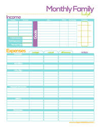Free Family Budgeting Worksheets Free Printable Budget Planners Budget Binder Fit Attitudes