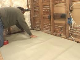 spread out underlayment