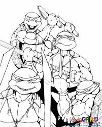 Small Picture TMNT group Teenage Mutant Ninja Turtles Coloring Pages