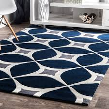 home and furniture best choice of navy area rugs in palm canyon kona handmade