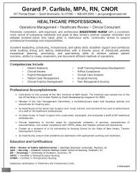 Icu Rn Examples Sample Nurse Resume At Registered - Sradd.me