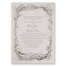 Gray Wedding Invitations Invitations By Dawn