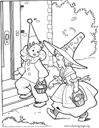 halloween costumes coloring pages cute halloween witch costume halloween costume coloring pages