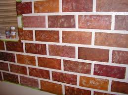 indoor brick wall painting ideas brick wall paint color