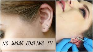 my tragus piercing experience healing process cleaning pain my tragus piercing experience healing process cleaning pain level