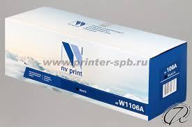 <b>Картридж HP W1106A</b>, совместимый | <b>HP 106A</b> аналог