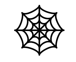 Spider Pattern Printable Incredible Spider Web Pumpkin Stencil Template Halloween