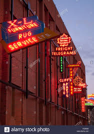 Outside Neon Lights The Electric Neon Signs Of The Outdoor Neon Sign Museum In