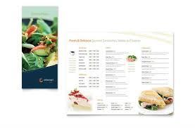 Take Out Menu Template Menu Brochure Template Word Asian Restaurant Take Out