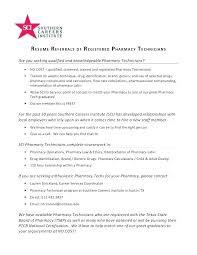Resume Sample For Pharmacy Assistant. Hospital Pharmacy Technician ...