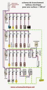 Schema Tableau Electrique Maison Individuelle Branchement Cablage Logiciel  Gratuit Schneider