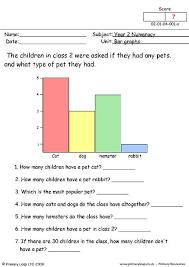 Bar Chart Homework Year 2 Maths Bar Graphs Worksheet This Activity Asks