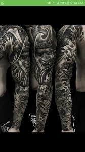 Samurai Sleeve татуировки ιδέες τατουάζ τατουάζ и γεωμετρικά
