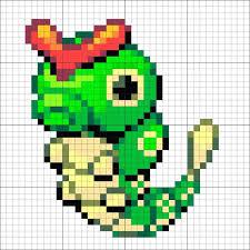 Pixel Art Template For Pokemon Bulbasaur Teran Co