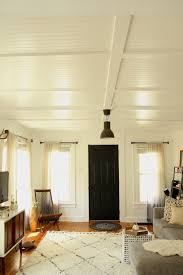 thinking about coffered ceilings put emily on the right track our ceilings are only