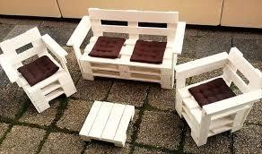 wood pallet outdoor furniture. diy pallet terrace furniture set wood outdoor