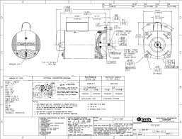 similiar ao smith motor wiring diagrams single phase keywords dimensions b2846 a o smith 1 2 hp centurion spa pump 230 115 vac 3450