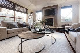 Pictures Of Designer Family Rooms Designer Family Home Casual Living Room In Neutral Tones And